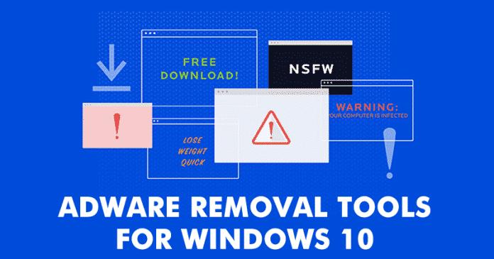 حذف فيروسات adware من الكمبيوتر بشكل نهائى