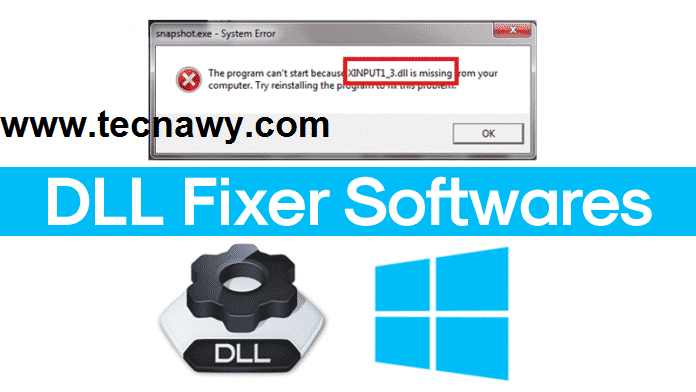 حل مشاكل الالعاب و التغلب عليها Dll Fixer