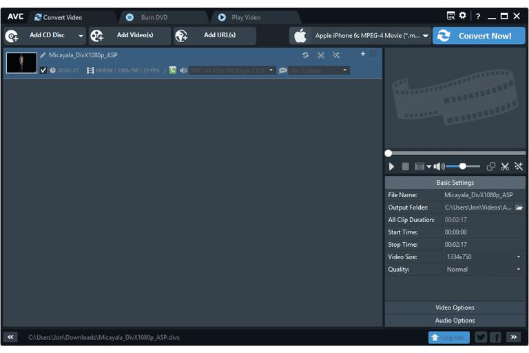 برنامج Any Video Converter