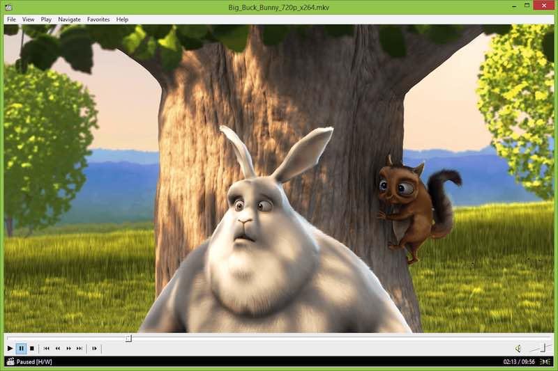 برامج تشغيل الفيديو على الويندوز Media Player Classic 1