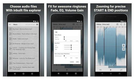 تطبيقات انشاء النغمات