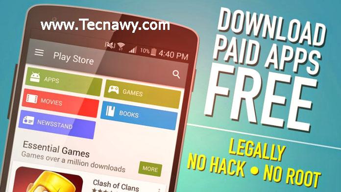 تحميل التطبيقات و الألعاب المدفوعه مجانا بطريقة شرعيه 2