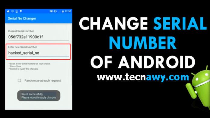 طريقة تغير سيريال الهاتف و فك الحظر من جميع الدول Serial Number