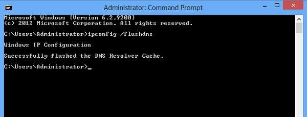 ميزة Flush DNS