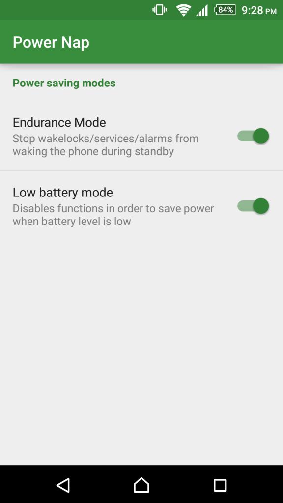 تنزيل وضع توفير الطاقة الخاص بسونى على اى هاتف | Sony Stamina Mod 2