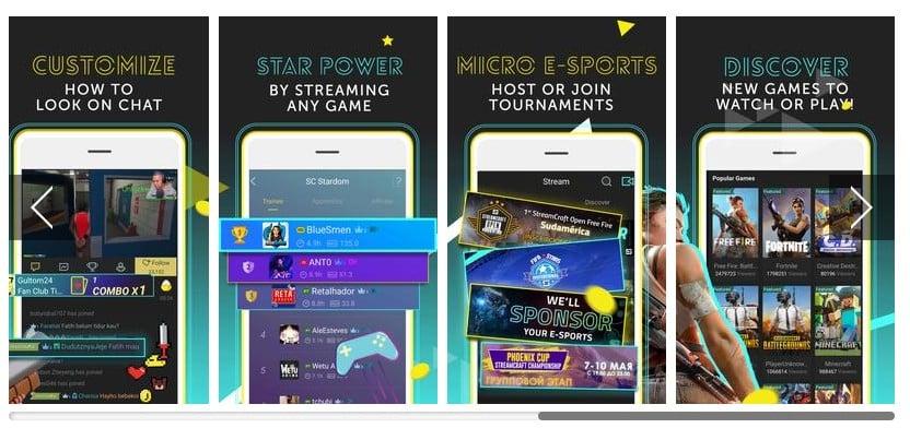 تطبيق StreamCraft
