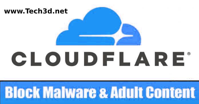 استخدام دى ان اس كلاود فلير للحماية من التجسس و المواقع الاباحية DNS CloudFlare