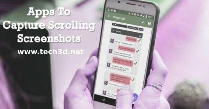 افضل تطبيقات سكرين شوت طويلة Scrolling Screenshots 2